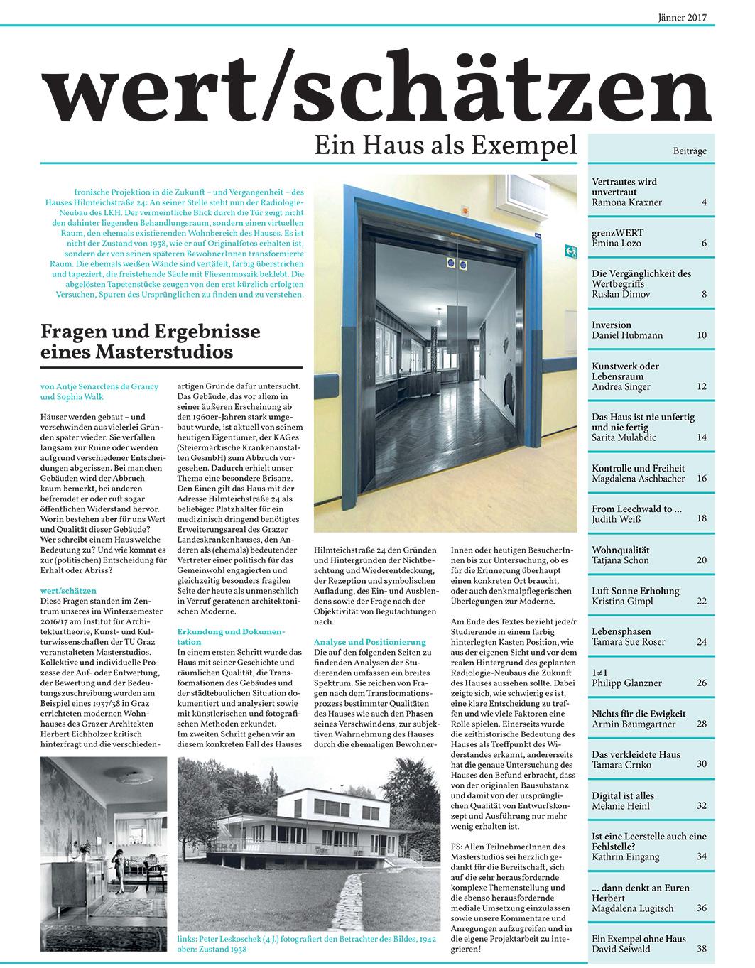 Zeitung Titelblatt